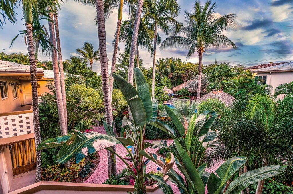 Crane's Beach House in Delray Beach offers 10% discounts off three- and four-night stays, and 15% of five nights or more through Oct. 7. It's a block from the beach.