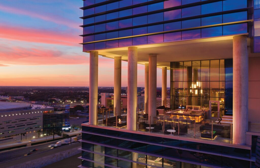 AC Hotel offers its Romance in the Sky package in the heart of downtown Orlando.